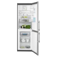 sale Electrolux En3454nox Fridge-freezer Cm. 60 - H 185 - Lt. 332 - Stainless Steel With Fingerprint Proof Finish