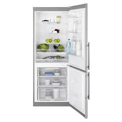 sale Electrolux En4084jox Fridge-freezer Cm. 70 - H-187 - Lt. 389 - Stainless Steel With Fingerprint Proof Finish
