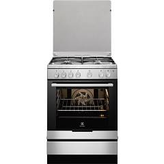 Electrolux Ekk6130aox Kitchen accosto cm. 60 - inox 4 fires + 1 electric oven
