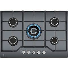 Electrolux Pvns752uov Gas cooking top cm. 74 - mirrored tempered crystal Pro
