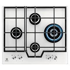 Electrolux Pvb646uov Gas cooking top cm. 60 - white tempature crystal