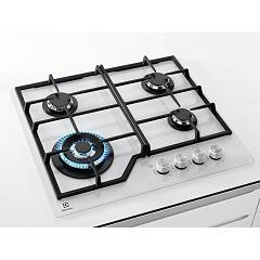 Photos 3: Electrolux PVB642UOV Gas cooking top cm. 60 - white tempature crystal