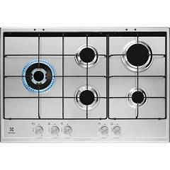 Electrolux Kgs7564sx Gas cooking top cm. 75 - inox glazed grids Slim Profile
