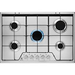 Electrolux Kgs7524sx Gas cooking top cm. 75 - inox glazed grids Slim Profile