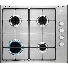 Electrolux Pxl641v Gas cooking top cm. 60 - inox glazed grids Slim Profile