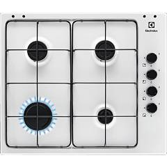 Electrolux Pbl641v Gas cooking top cm. 60 - white glazed grids Slim Profile
