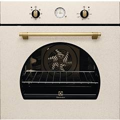 Electrolux Fr65s Oven cm. 60 - sand - bronze handle and knobs Rustico