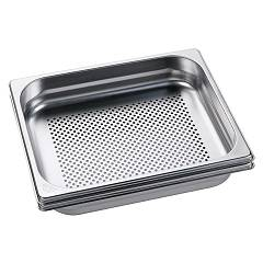 Electrolux Gbs325 2 trays for steam cooking
