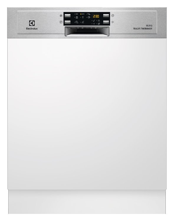 Photos 1: Electrolux TP1004R5X Real Life Built-in dishwasher cm. 60 h 90 - 15 partial integrated covers