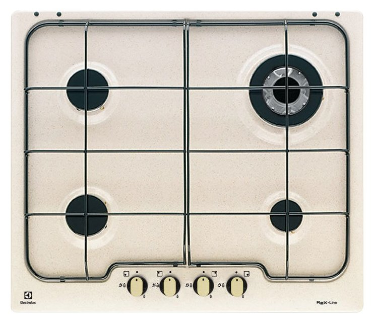 Photos 1: Electrolux PS640RUV Rustico Cooking top cm. 60 - bronze finish handle sands