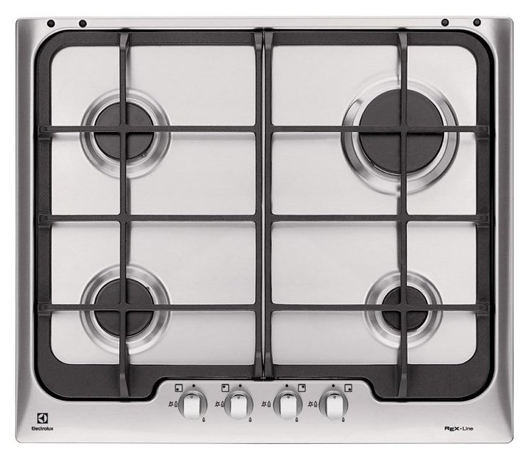 Photos 1: Electrolux PX640OV Soft Gas cooking top cm. 60 - inox