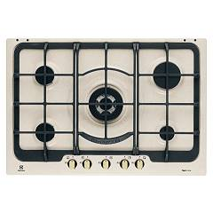 Electrolux Ps750ruov Hob cm. 75 - sand grips bronze finish Rustico