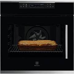 Electrolux Kofcp00lx Multifunction oven cm. 60 - black - pyrolytic - door hinging on the left Flex