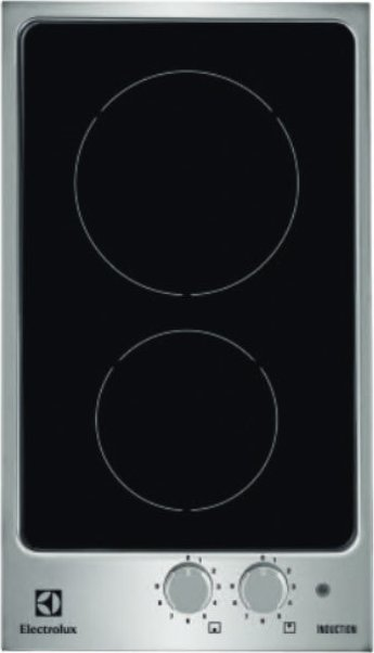 Photos 1: Electrolux PQX320I Quadro Induction cooking top cm. 30 - vetroceramica stainless steel frame
