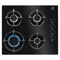 Electrolux Egg6407k Gas hob cm. 60 - black glass