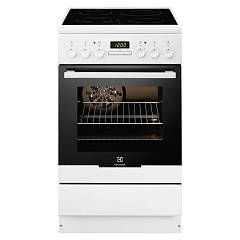 Electrolux Ekc54550ow Striking kitchen cm. 50 x 60 - white 1 electric oven + 4 electric plates
