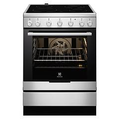 Electrolux Ekc6150aox Striking kitchen cm. 60 x 60 - stainless steel 1 electric oven + 4 electric plates