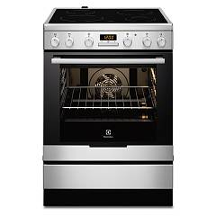 Electrolux Ekc6430aox Striking kitchen cm. 60 x 60 - stainless steel 1 electric oven + 4 electric plates