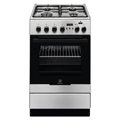 Electrolux Ekk54952ox Striking kitchen cm. 50 x 60 - stainless steel 1 electric oven + 4 gas burners