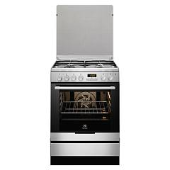 Electrolux Ekk6450aox Kitchen from accosto cm. 60 x 60 - inox 1 electric oven + 4 burners gas