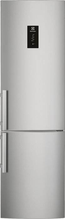 Photos 1: Electrolux EN3790MKX Frigocongelatore cm. 60 h. 201 - lt. 334 - stainless steel anti-fingerprint