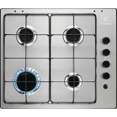 Electrolux Egs6403x Gas hob cm. 60 - stainless steel anti-fingerprint
