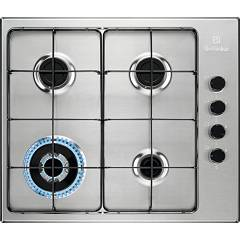 Electrolux Egs6414x Gas hob cm. 60 - stainless steel anti-fingerprint