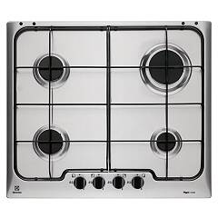 Electrolux Rgg6242oox Gas hob cm. 60 - stainless steel anti-fingerprint Soft