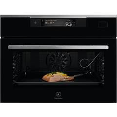 Electrolux Kvbas21wx Combined steam compact oven 60 h 46 - black