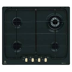 Electrolux Pn640ruv Cooking top cm. 60 - nero cast iron bronze finish handle Rustico