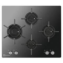 Electrolux Pvf645uons Cooking top cm. 60 - black mirror crystal Gas On Glass Verticalflame