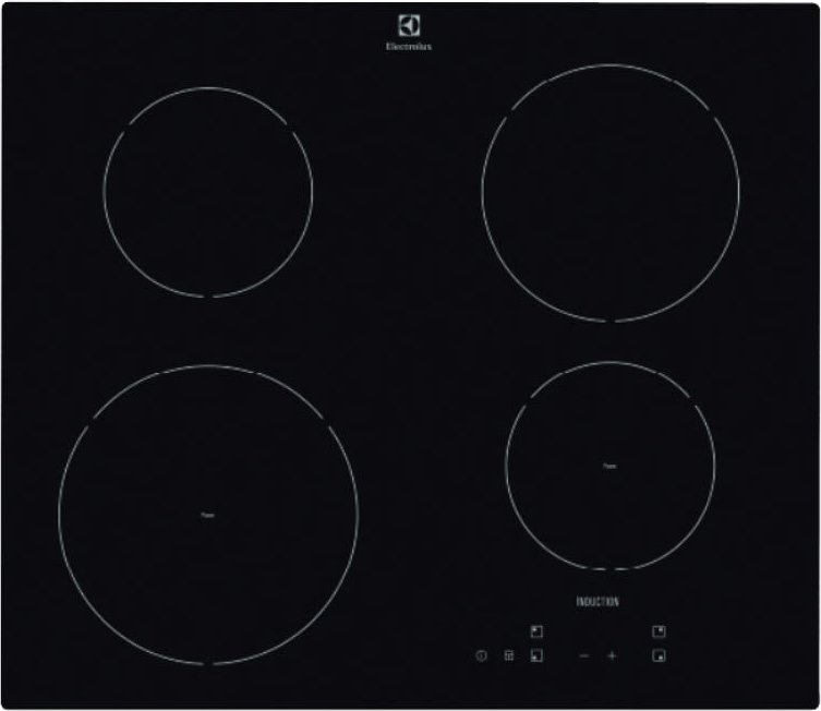 Photos 1: Electrolux KTI6430E Induction cooking top cm. 60 - ceramic glass
