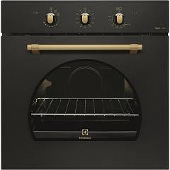 Electrolux Fr13gg Gas oven cm. 60 - black Rustico