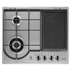 sale Electrolux Egh6349gox Hob Built-cm. 60 - Inox With Frying Griddle
