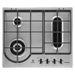 Electrolux Egh6349box Built-in hob cm. 60 - stainless steel with fish bowl Slim Profile