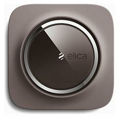 Elica Snap Air cleaner wi-fi connection tortora