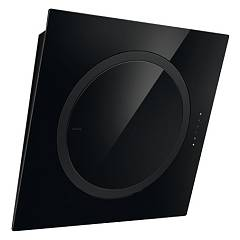 Elica Om Air Wall hood cm. 75 - black glass