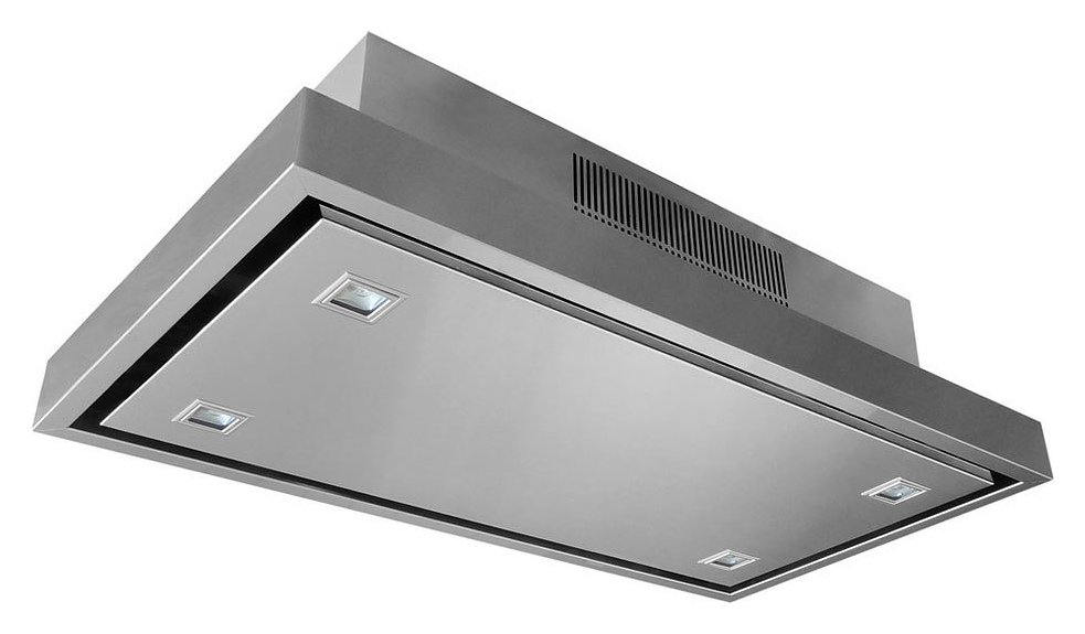 Elica Cloud Five Hood Ceiling Cm. 90 X 50 - Stainless Steel ...