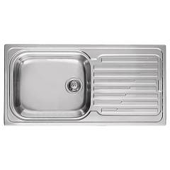Elleci Sky 480 Built-in sink 100 x 50 inox - right drip Sky