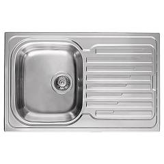 Elleci Sky 300 Stainless steel built-in sink 79 x 50 - right drip Sky