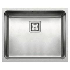 Elleci W-square 500 Built-in sink / undermount / flush-mounted 54 x 44 stainless steel W-square