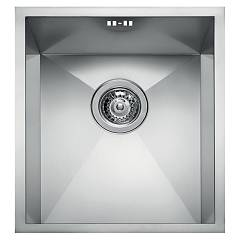 Elleci Square 340 Stainless steel undermount sink 38 x 44 Square