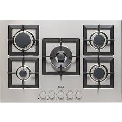 Elleci Plano 75 Gas cooking top cm. 75 - inox Plano
