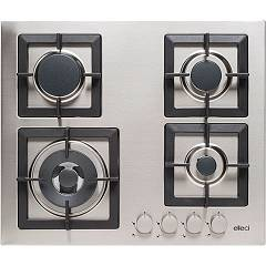 Elleci Plano 60 Gas cooking top cm. 60 - inox Plano