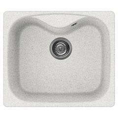 Elleci Fox 200 Built-in sink 58 x 50 - granitek - white stone Fox