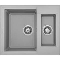 Elleci Easy 150 Built-in sink 60 x 50 - metaltek - aluminum Easy