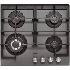 Elleci Quadro 60 Gas hob cm. 60 - keratek plus - dark gray Quadro