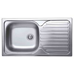 Elleci Special 300 Stainless steel built-in sink 78 x 43.5 - right draining board Special