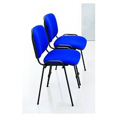Eurosedia Daria Chair in nylon and acrylic fabric