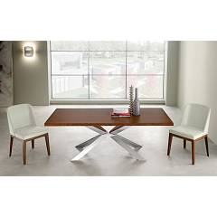 sale Eurosedia Mikado Fixed Table L. 200 X 100